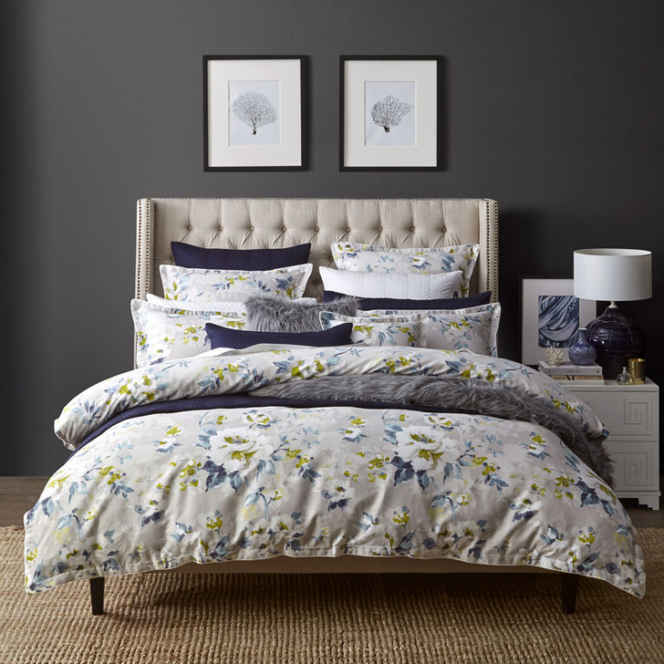 Private Collection Winslow Dove Quilt Cover Set   My Linen