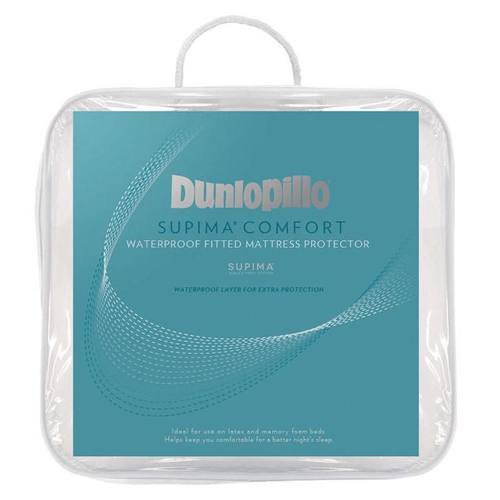 Dunlopillo Supima Comfort Waterproof Mattress Protector   My Linen
