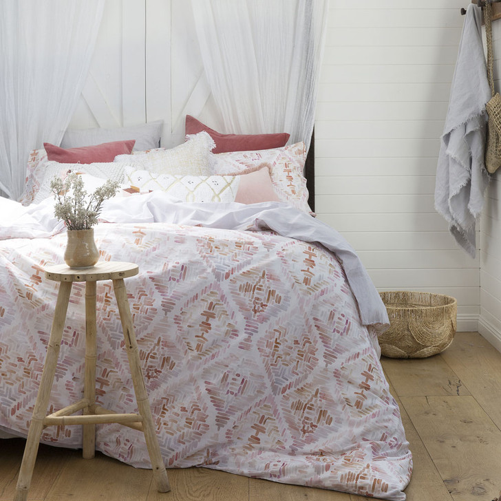 Bambury Magali King Bed Quilt Cover Set   My Linen