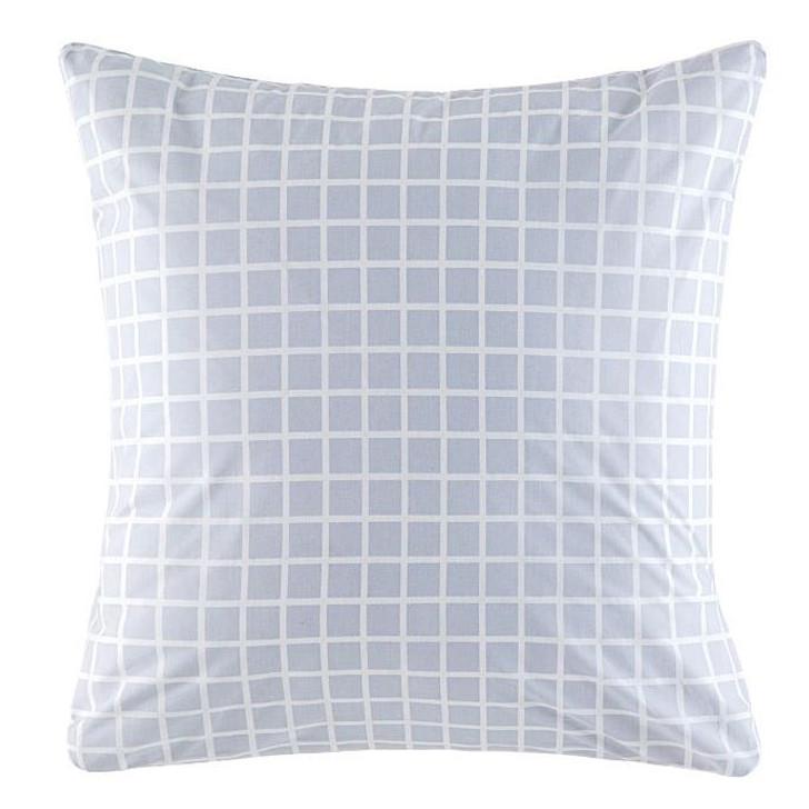 KAS Room Kelvin Blue European Pillowcase | My Linen