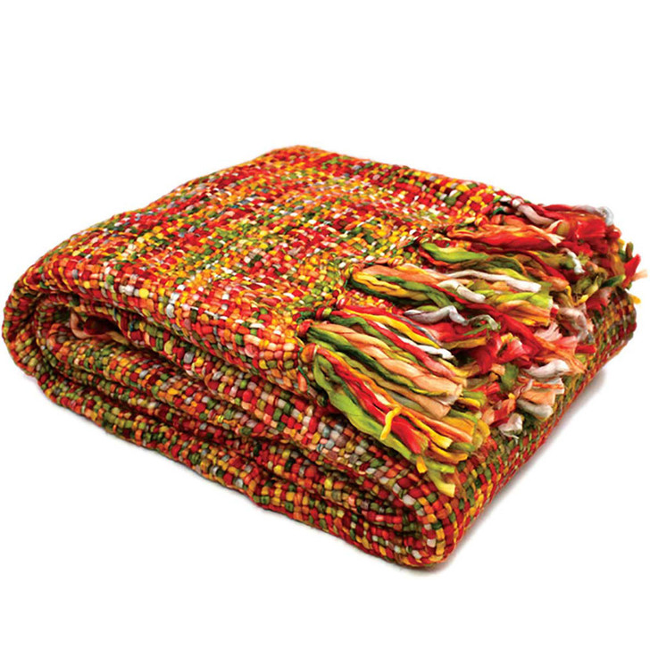 Rans Oslo Tropical Punch Throw   My Linen