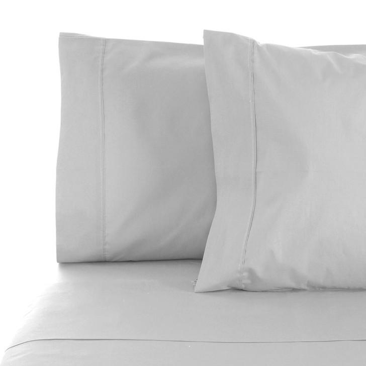 Jenny Mclean La Via Silver King Single Bed Sheet Set   My Linen