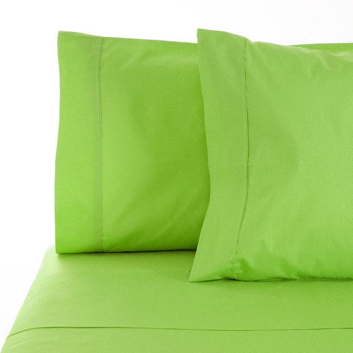 Jenny Mclean La Via Lime King Single Bed Sheet Set | My Linen