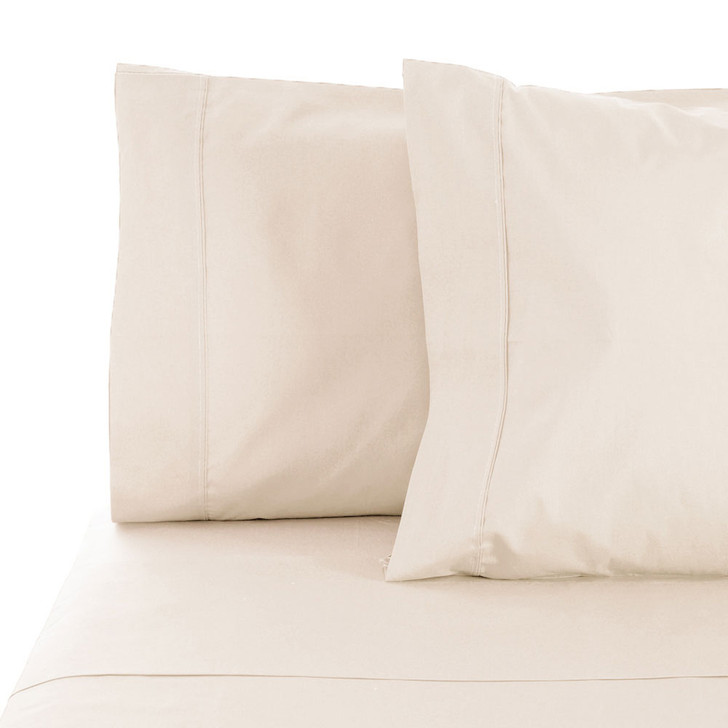 Jenny Mclean La Via Ivory King Single Bed Sheet Set | My Linen