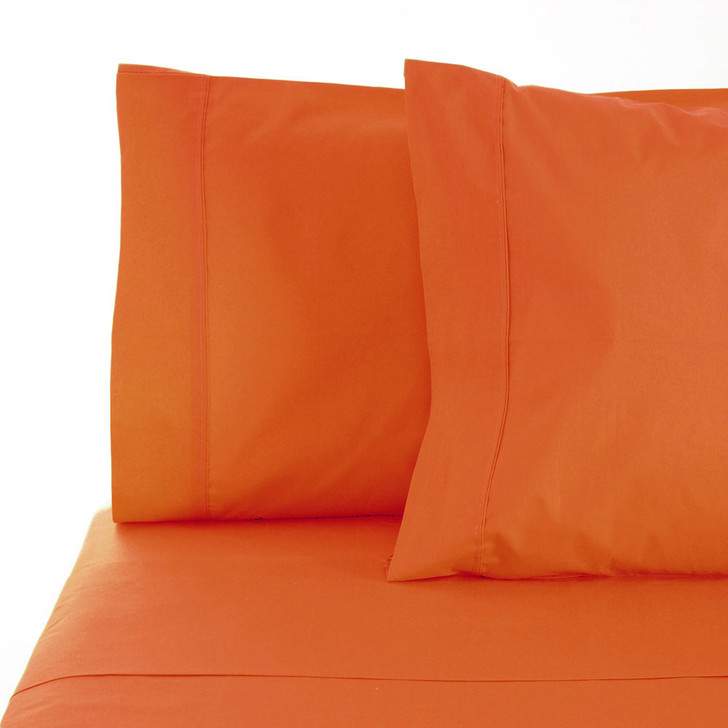 Jenny Mclean La Via Orange King Bed Sheet Set   My Linen