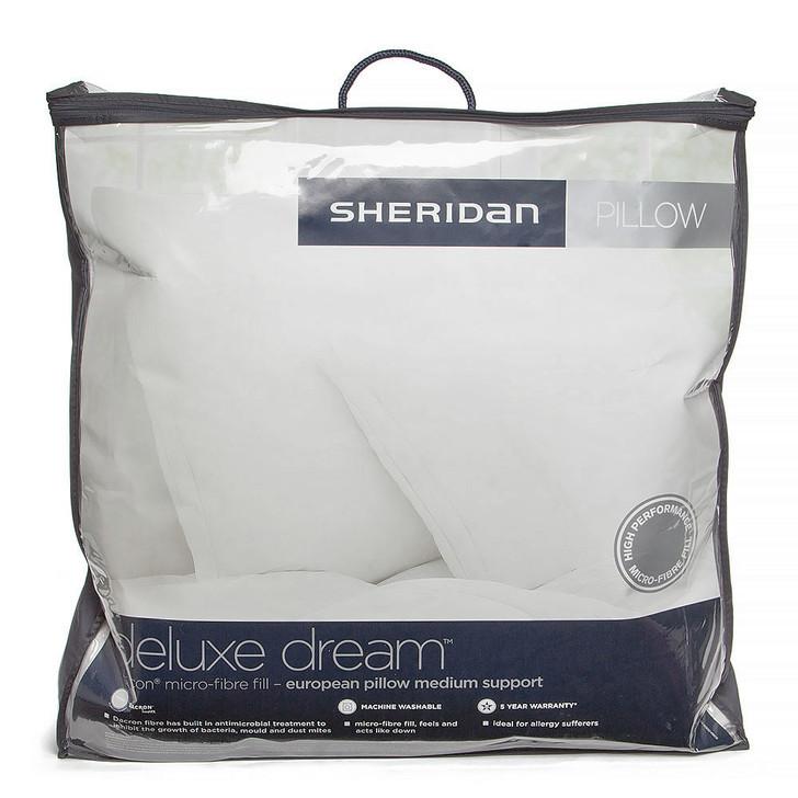 Sheridan Deluxe Dream European Pillow | My Linen