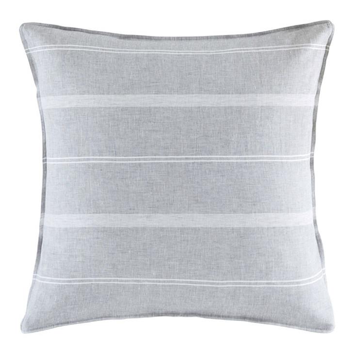 KAS Balmoral Neutral European Pillowcase   My Linen