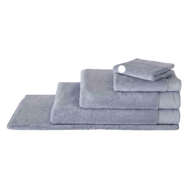 Sheridan Luxury Retreat Towel Collection Face Washer Dusty Blue | My Linen