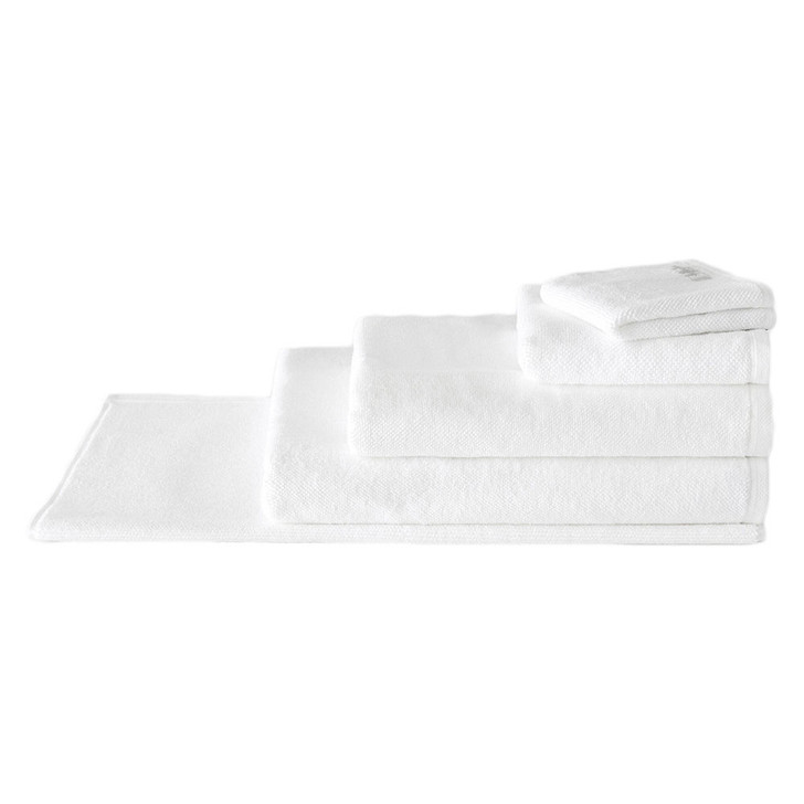 Sheridan 100% Combed Cotton Twist Towel Collection 7pc Bath Sheet Set White | My Linen