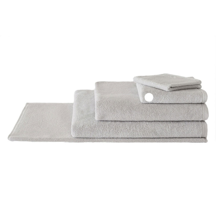 Sheridan 100% Combed Cotton Twist Towel Collection Hand Towel Cool Grey | My Linen