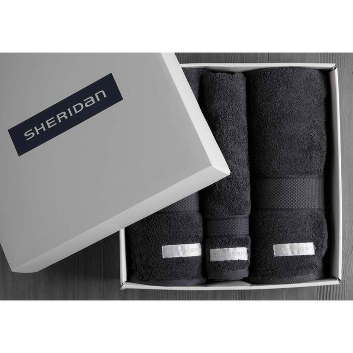 Luxury Egyptian Towel Gift Box | Graphite