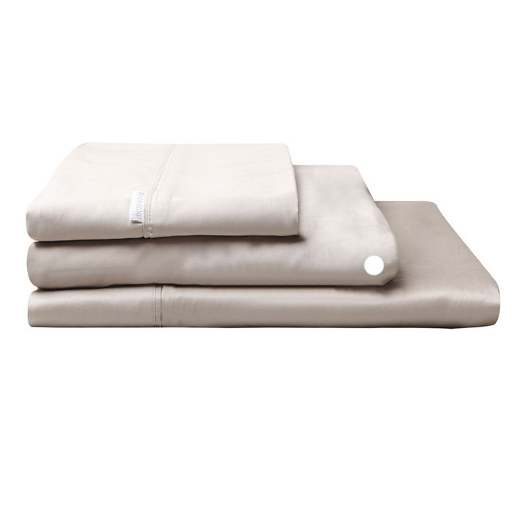 Logan and Mason Egyptian Cotton Fitted Sheet Linen | My Linen
