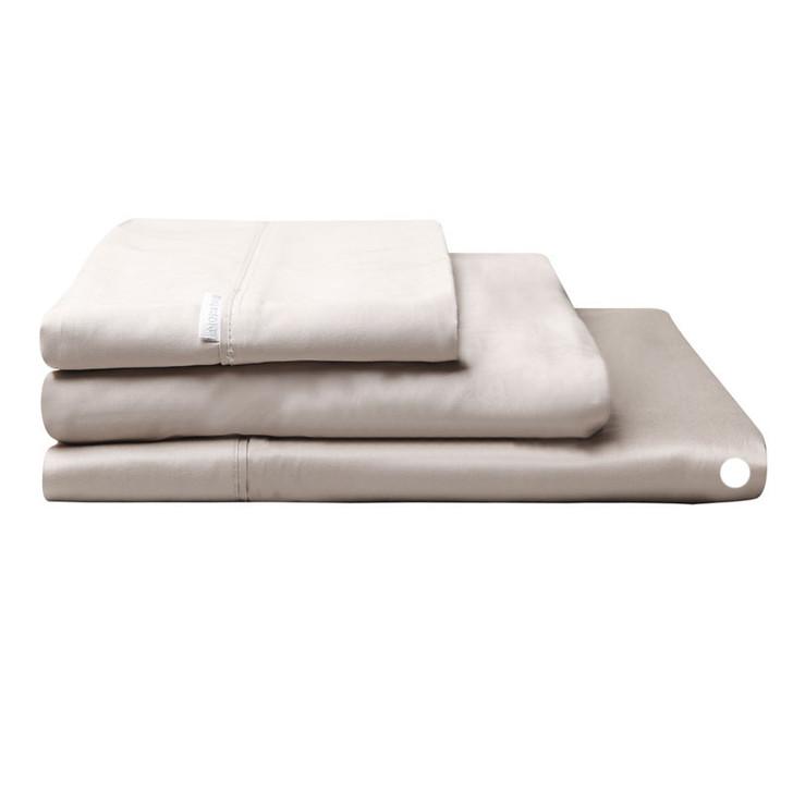 Logan and Mason Egyptian Cotton Flat Sheet Linen | My Linen
