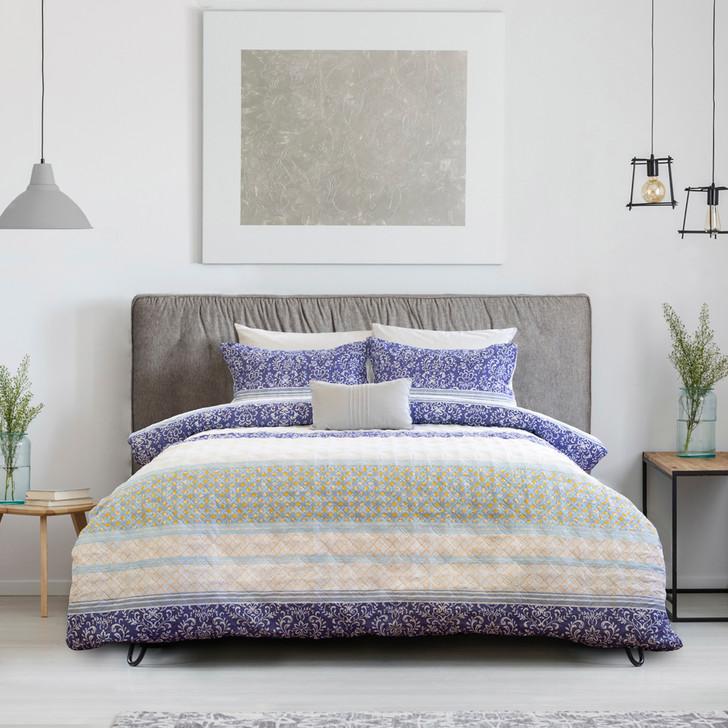 Ardor Boudoir Elise Multi Single Bed Quilt Cover Set   My Linen