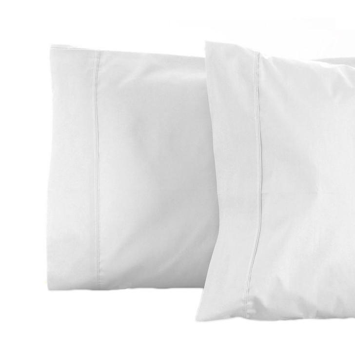Jenny Mclean RANS La Via White Standard Pillowcase   My Linen
