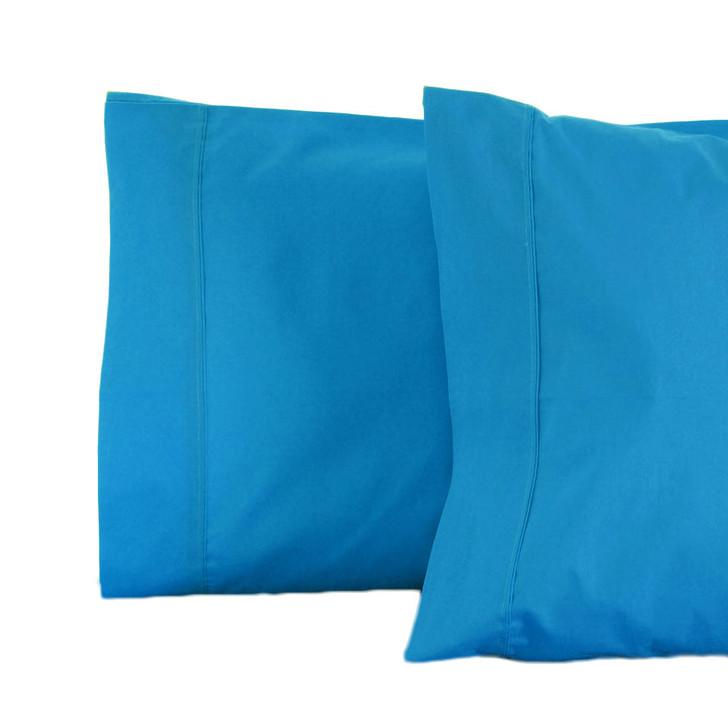 Jenny Mclean RANS La Via Aqua Standard Pillowcase   My Linen