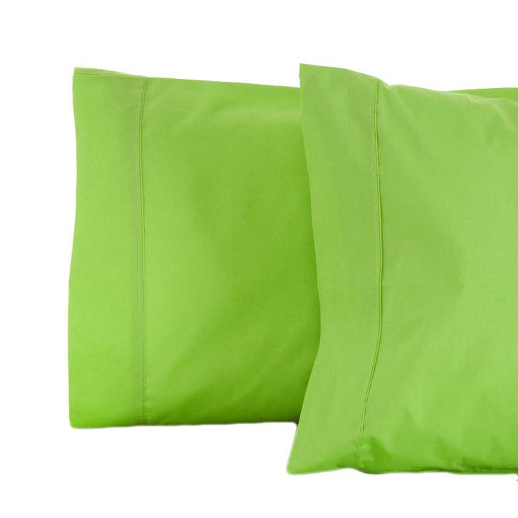 Jenny Mclean RANS La Via Lime Standard Pillowcase | My Linen