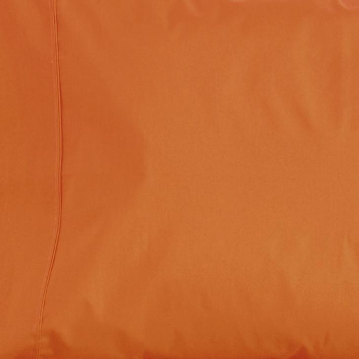 Jenny Mclean La Via Orange King Single Bed Fitted Sheet   My Linen