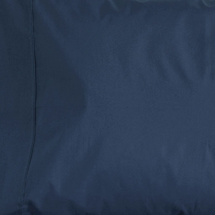 Jenny Mclean La Via Navy Single Bed Fitted Sheet   My Linen