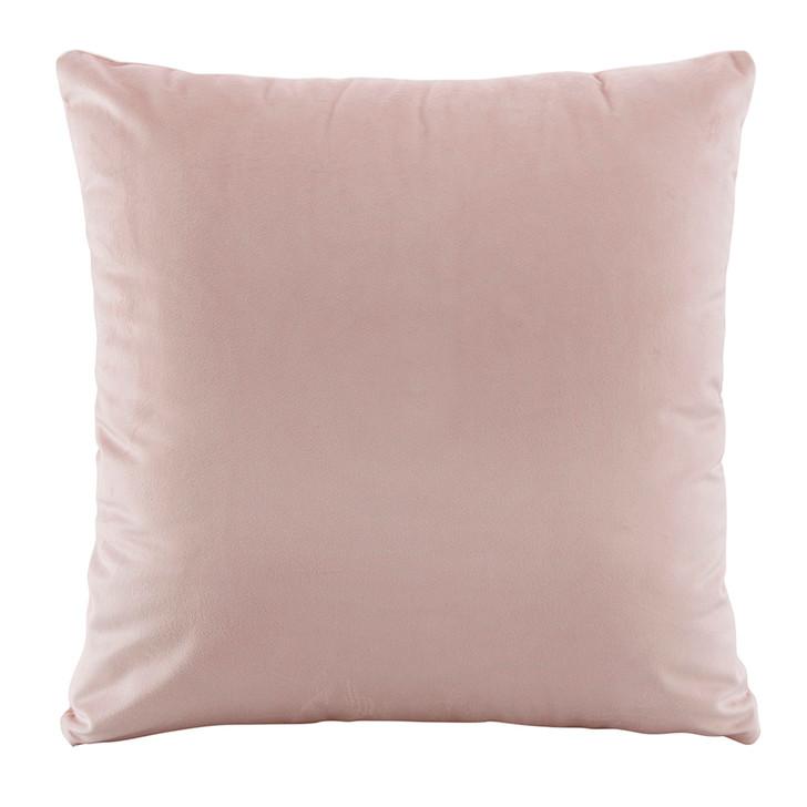 Bianca Vivid Blush Velvet European Pillowcase   My Linen