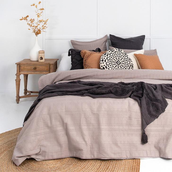 Bambury Ashcroft Queen Bed Quilt Cover Set | My Linen