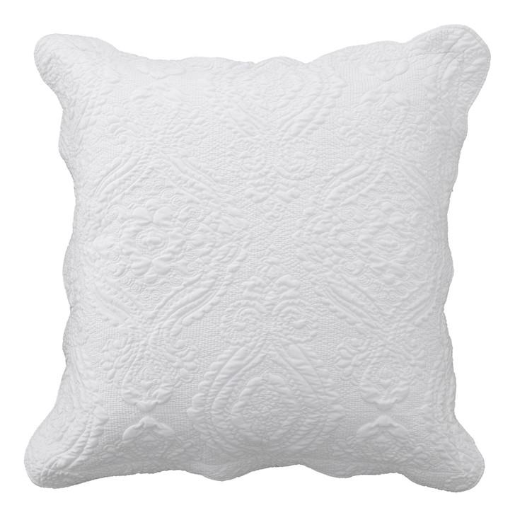 Bianca Cordelia White European Pillowcase | My Linen