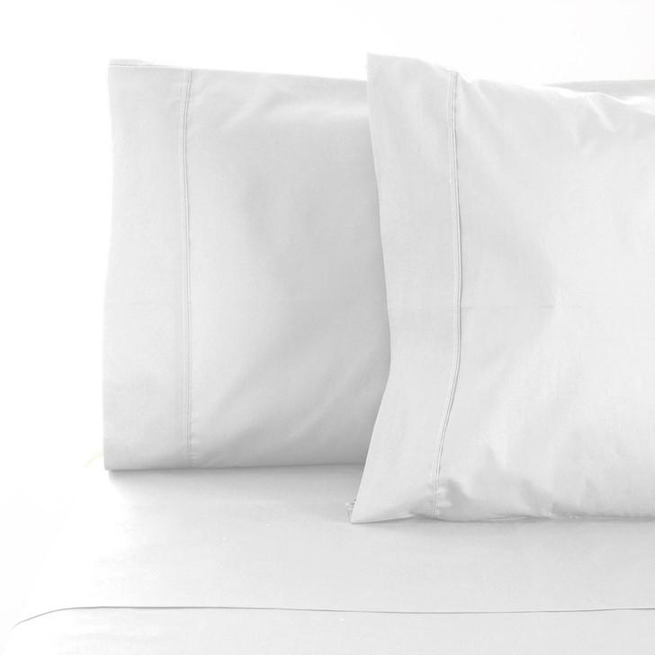 Jenny Mclean La Via White King Bed 50cm Sheet Set | My Linen
