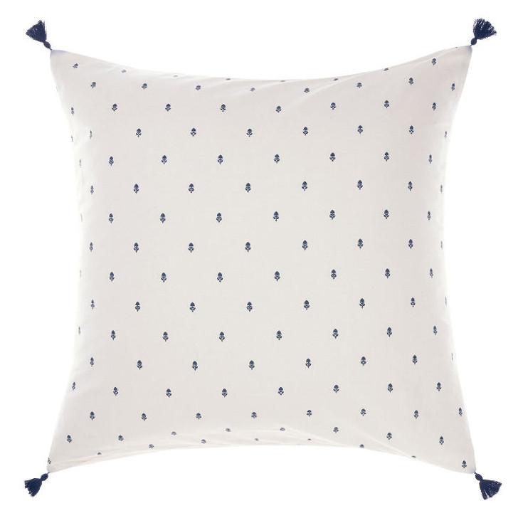 Linen House Anika Blue European Pillowcase   My Linen