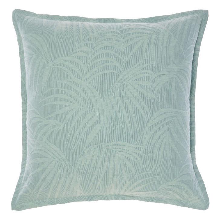 Linen House Angelika Aqua European Pillowcase | My Linen