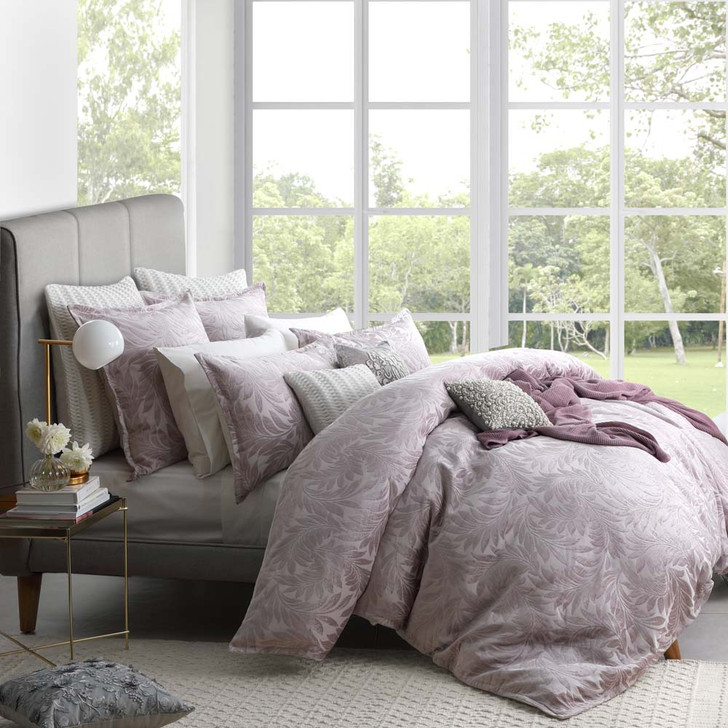 Private Collection Sunbury Dusk Queen Bed Quilt Cover Set   My Linen