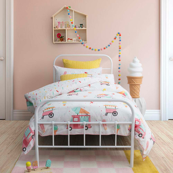 Logan and Mason Sprinkles Gelato Double Bed Quilt Cover Set | My Linen