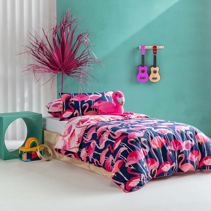 KAS Kids Flamboyant Double Bed Quilt Cover Set | My Linen