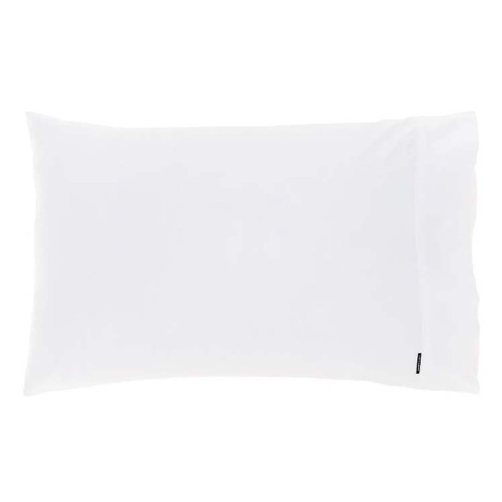 Linen House Augusta White 500TC King Pillowcase | My Linen