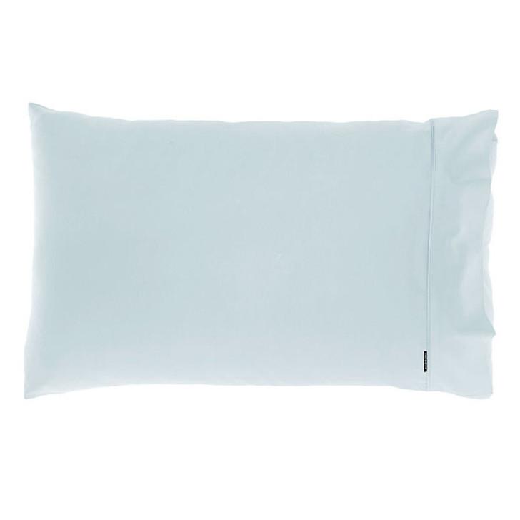 Linen House Augusta Pale Blue 500TC Standard Pillowcase   My Linen