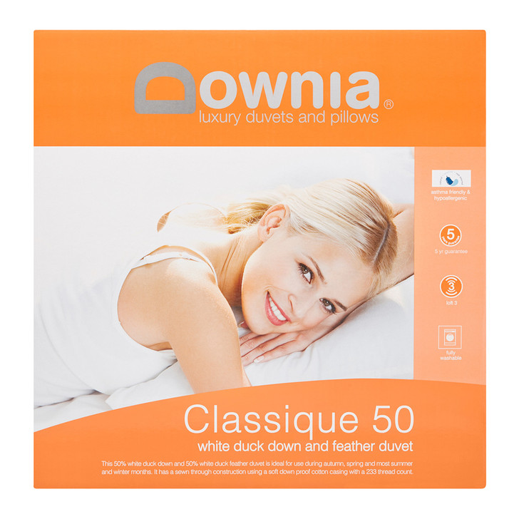 Downia Classique 50 Collection Down & Feather Double Bed Quilt | My Linen