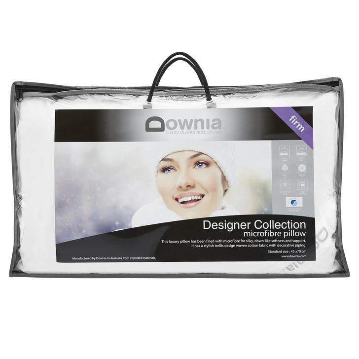 Downia Designer Collection Microfibre Firm Profile Pillow | My Linen