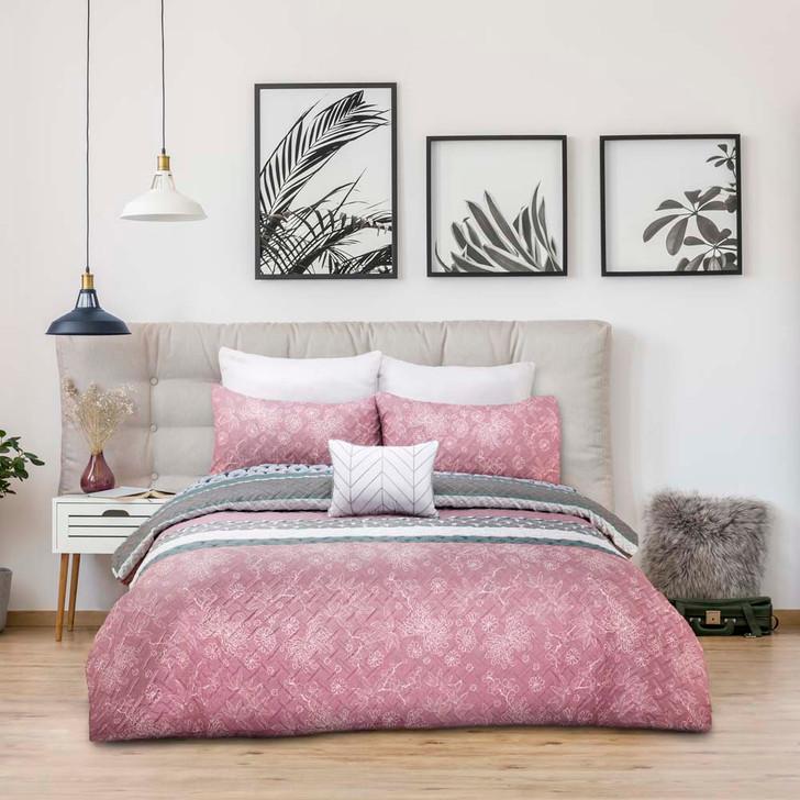 Ardor Bourdoir Aiko Single Bed Quilt Cover Set | My Linen