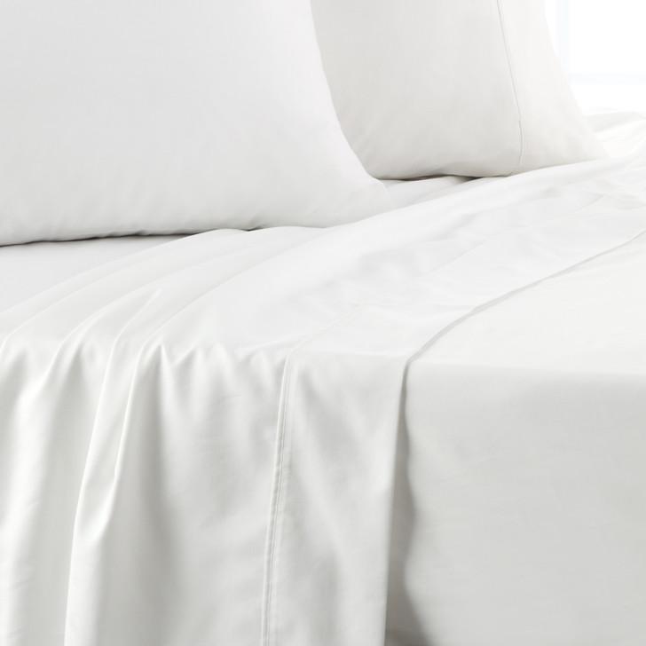 Platinum Logan and Mason 750TC Cotton King Bed Sheet Set White | My Linen