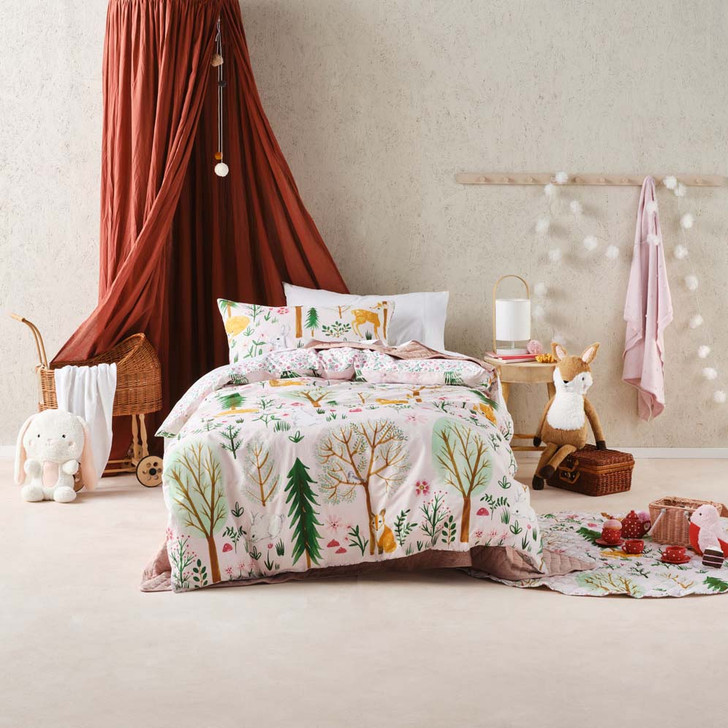 Hiccups Woodlandia Single Bed Quilt Cover Set | My Linen