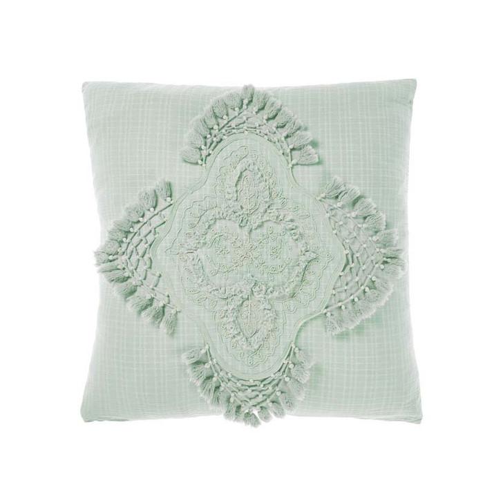 Linen House Alli Stillwater Square Filled Cushion   My Linen