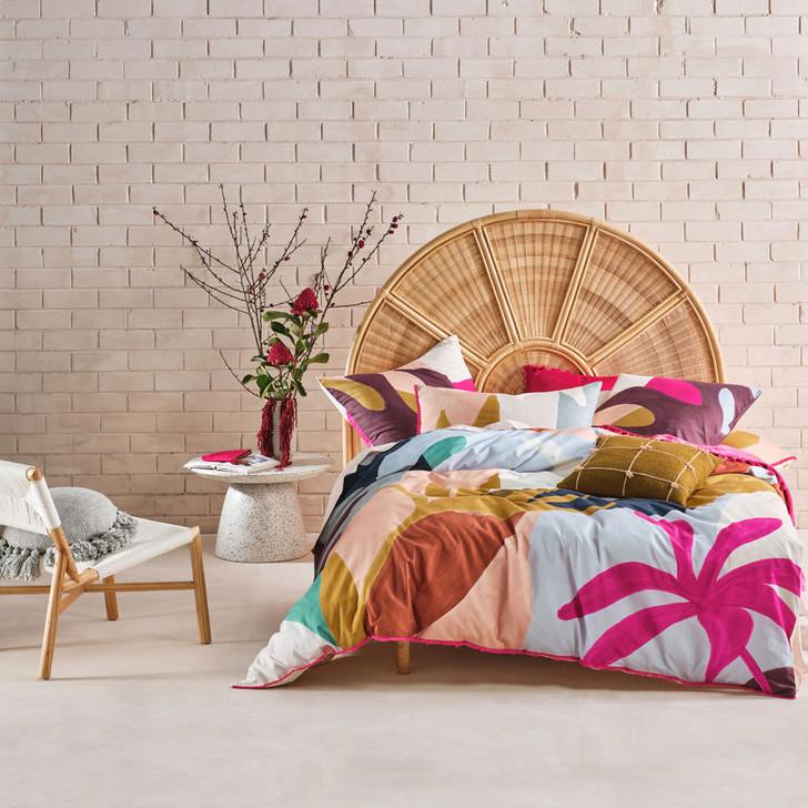 Linen House Marisha Bright Double Bed Quilt Cover Set   My Linen