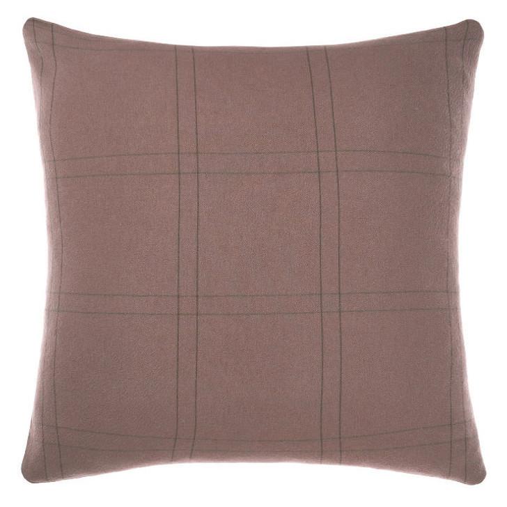 Linen House Albert Black European Pillowcase | My Linen