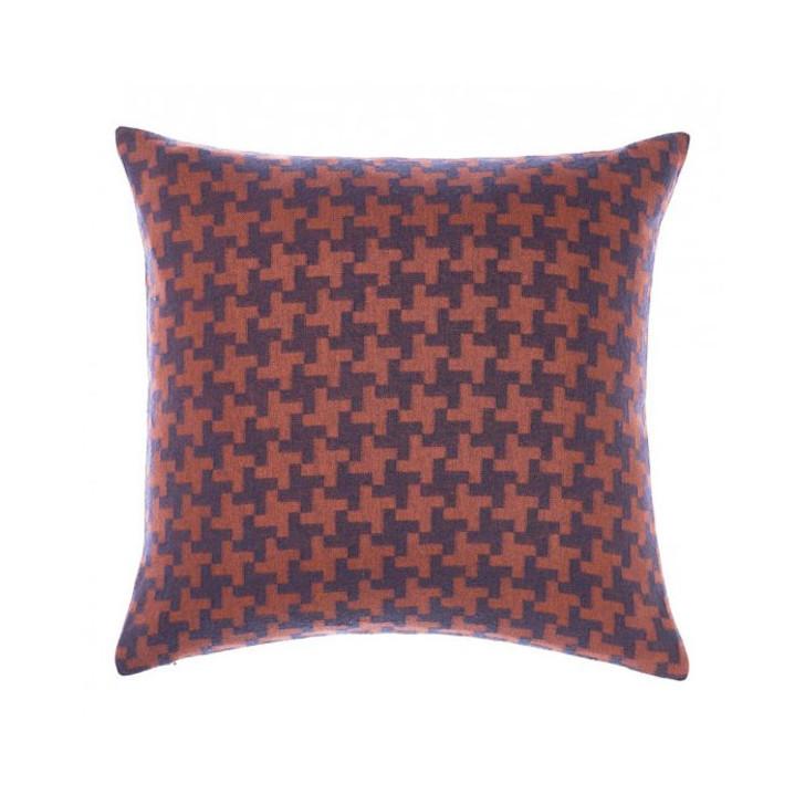 Linen House Albert Navy Square Filled Cushion | My Linen