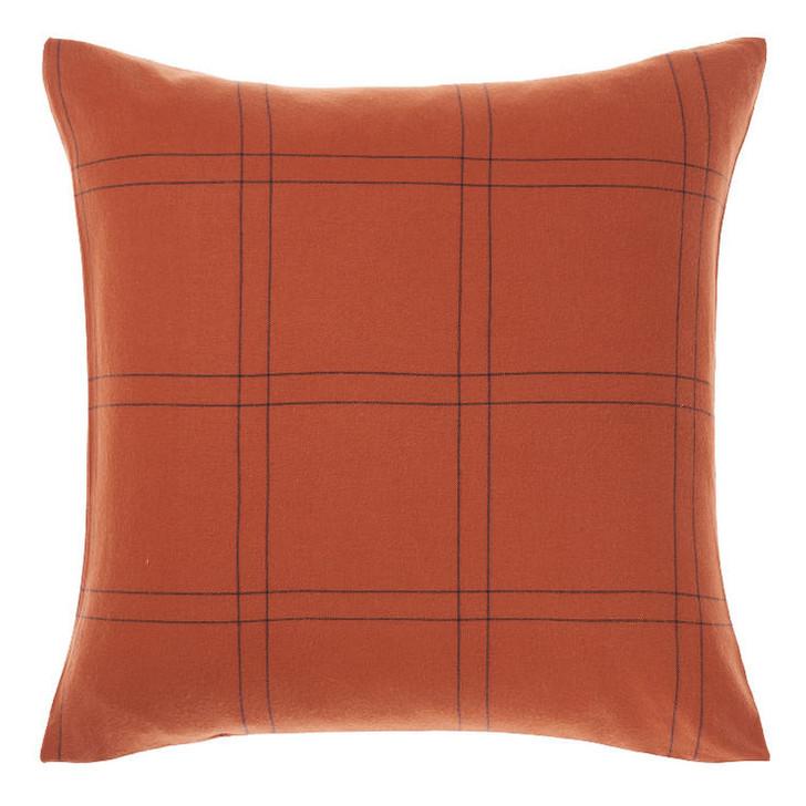 Linen House Albert Navy European Pillowcase | My Linen