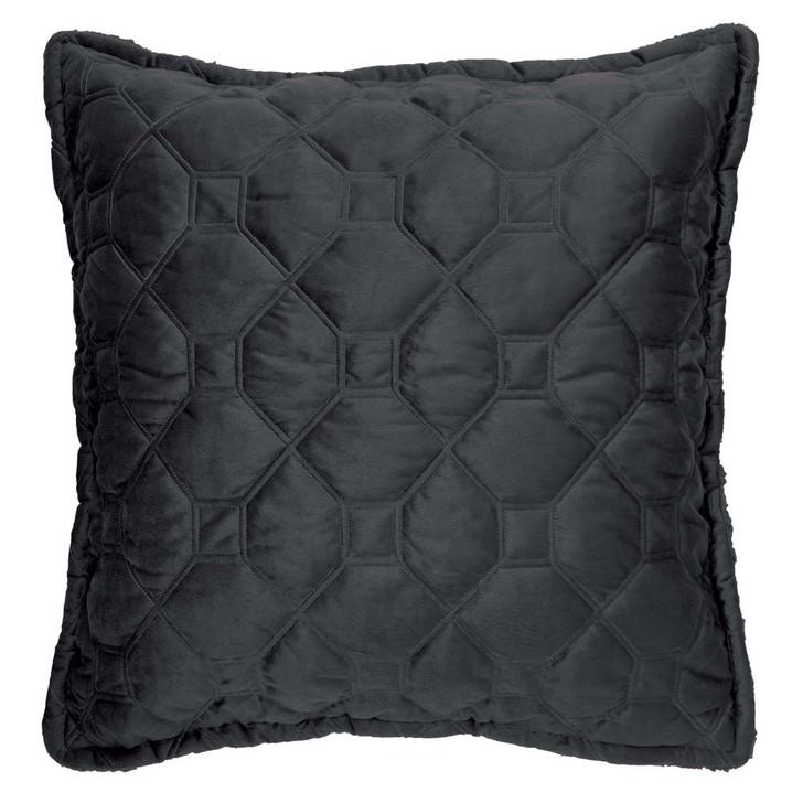 Bianca Yaxley Charcoal European Pillowcase   My Linen