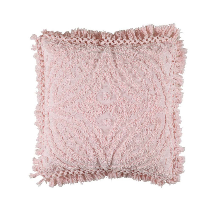 Bianca Kalia Pink Square Filled Cushion | My Linen