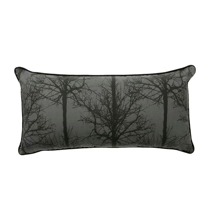 Bianca Alpine Deer Black Long Filled Cushion | My Linen