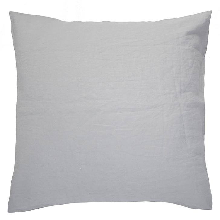 Bambury 100% Linen Silver European Pillowcase | My Linen