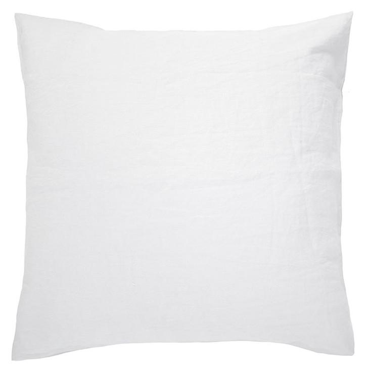 Bambury 100% Linen Ivory White European Pillowcase | My Linen