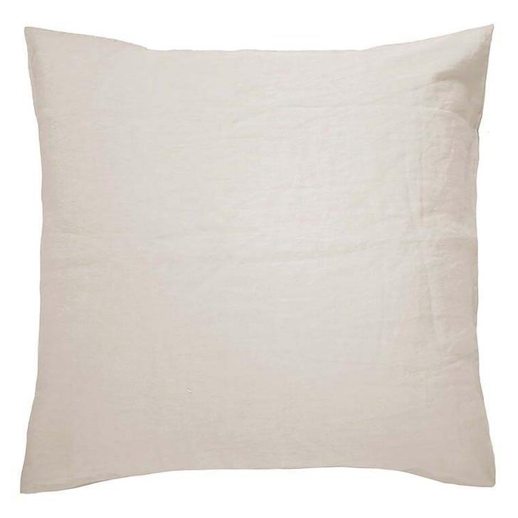 Bambury 100% Linen Pebble European Pillowcase | My Linen